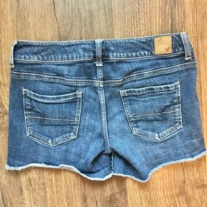 American Eagle Cut Off Stretch Jean Shorts